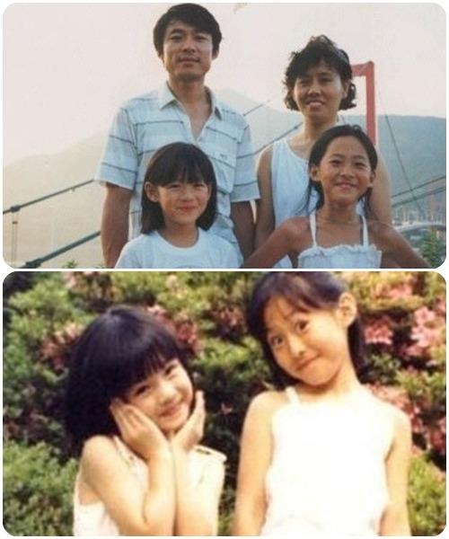 ソン・イェジンの若い頃・実姉もかわいい!家族の画像・経歴・学歴も
